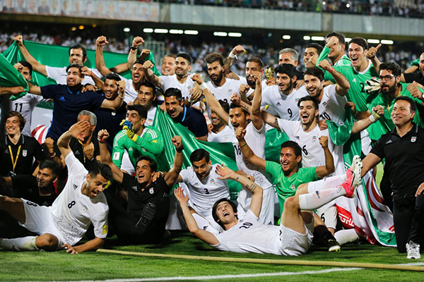 Iran herrlandslag fotboll world cup 2018