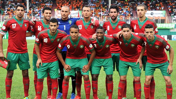 Marockanska herrlandslaget