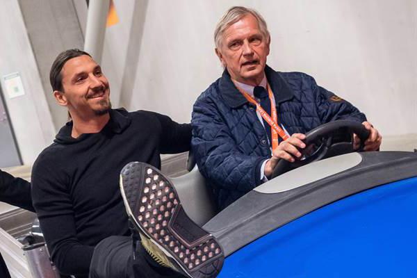 Zlatan och Lasse Richt