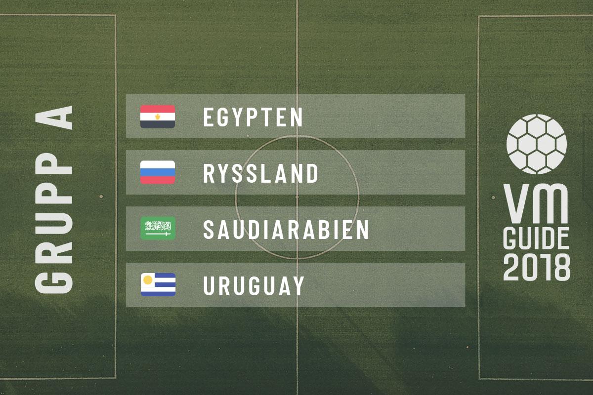 Grupp A - fotbolls-VM 2018