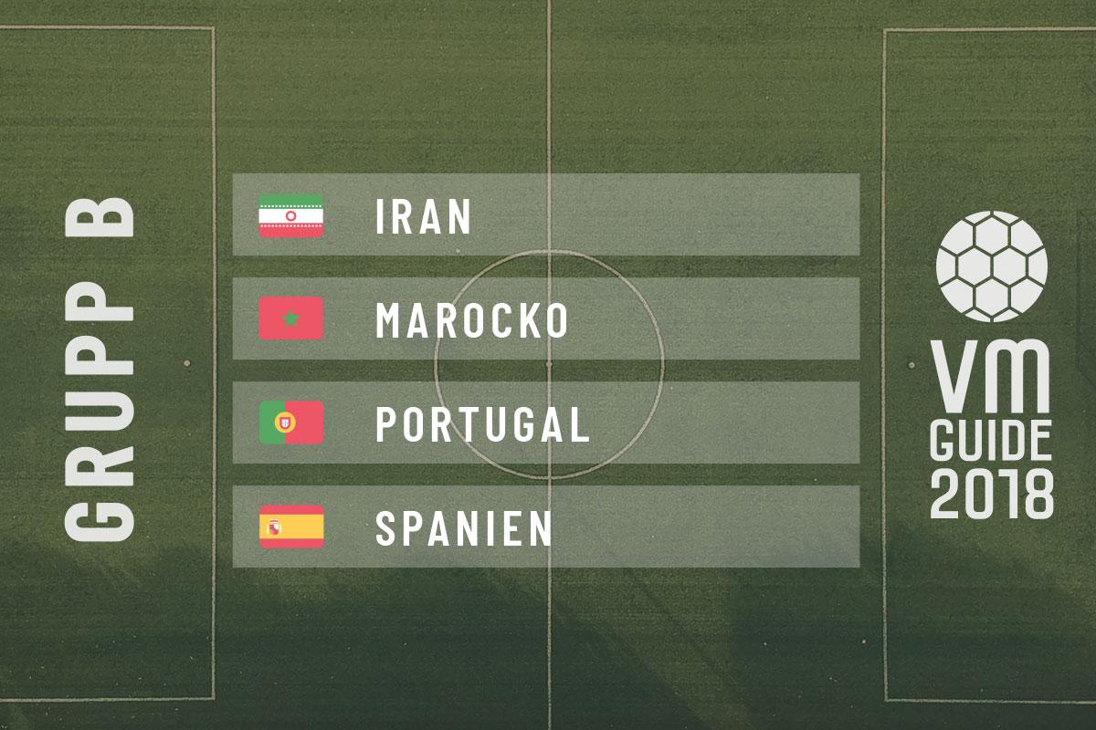 Grupp B - fotbolls-VM 2018