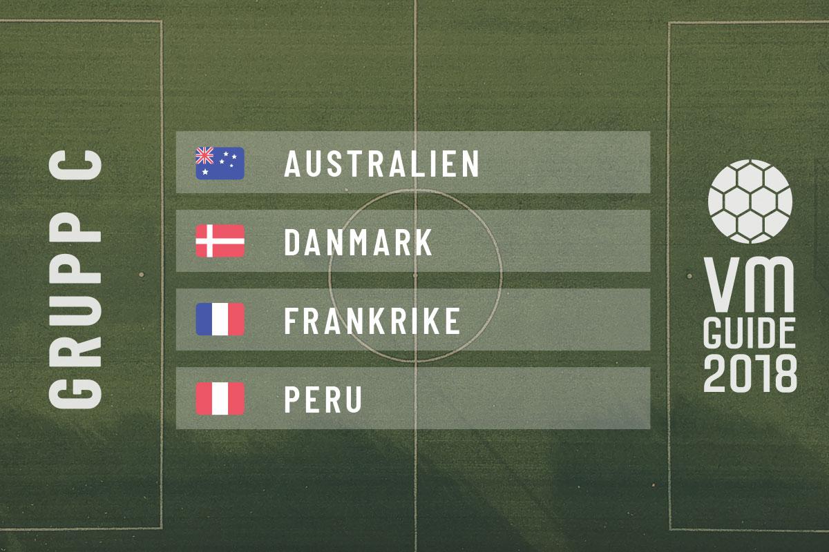 Grupp C - fotbolls-VM 2018