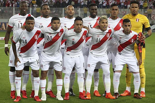 Det peruanska herrlandslaget i fotboll vm 2018