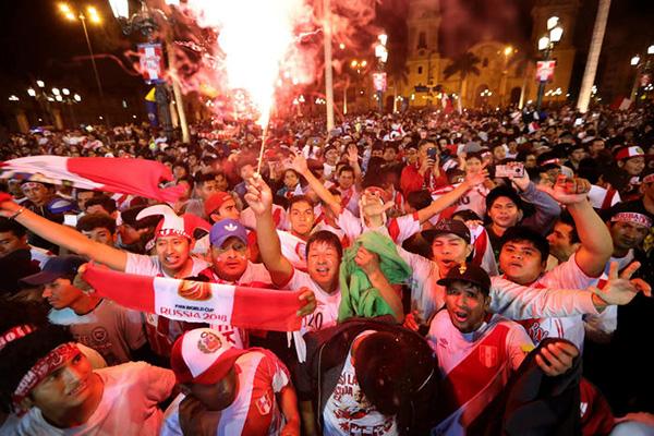 Peru är tillbaka i VM efter 36 års frånvaro