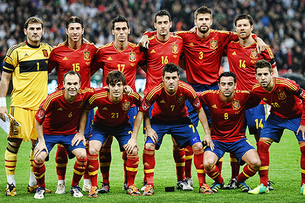 Spaniens herrlandslag i fotboll