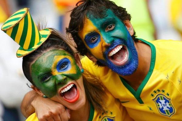 Brasilien Fotbolls VM 2018