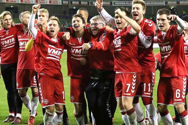 Danmark herrlandslag fotboll