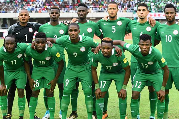 Nigeria herrlandslag fotboll