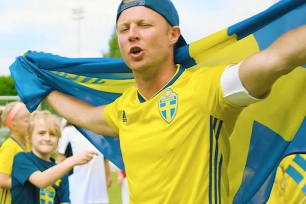Pidde P VM låt Sverige VM Ryssland 2018