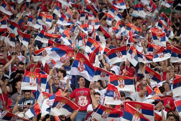 Serbien fotboll VM Ryssland