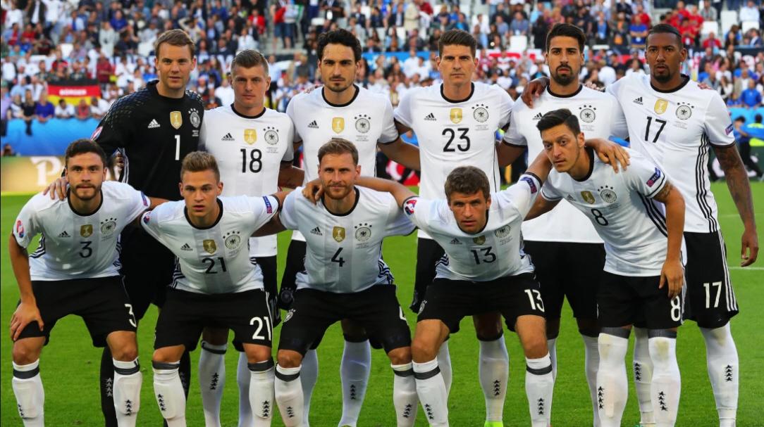 Tyska herrlandslaget i fotboll