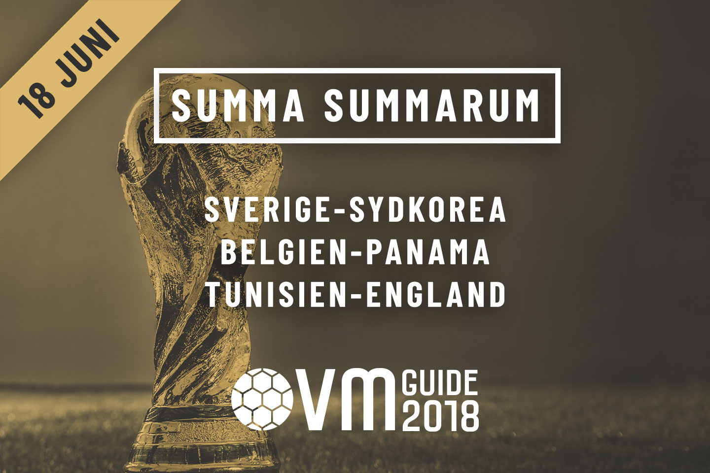 Summa Summarum 18 juni VM i Ryssland 2018