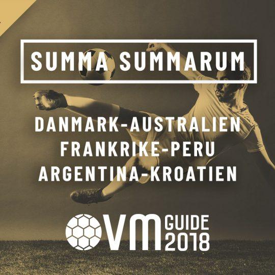 Summa Summarum 21 juni VM i Ryssland 2018