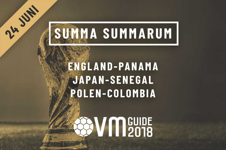 Summa Summarum 24 juni VM i Ryssland 2018